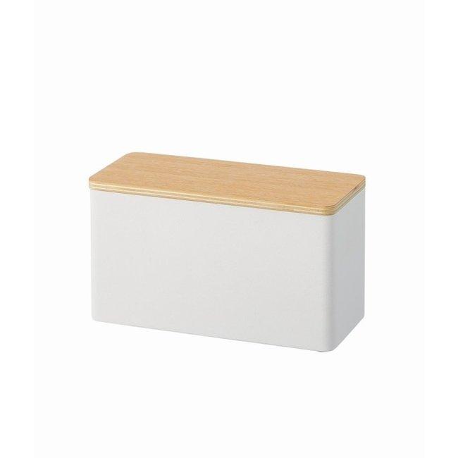 Yamazaki Sanitary Storage Box - Make Up - white