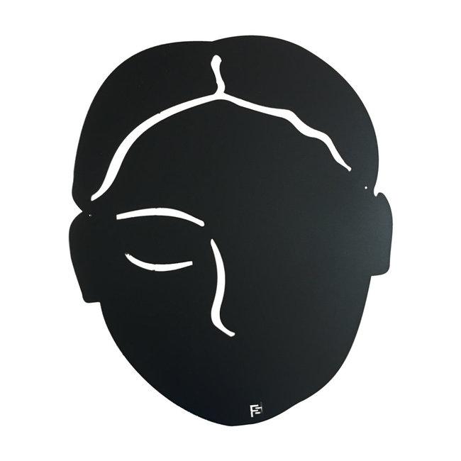 FAB5 Wonderwall Magnetplatte Gesicht - groß