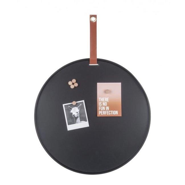 Present Time - Magnetic Board - Memo Board Perky  - black