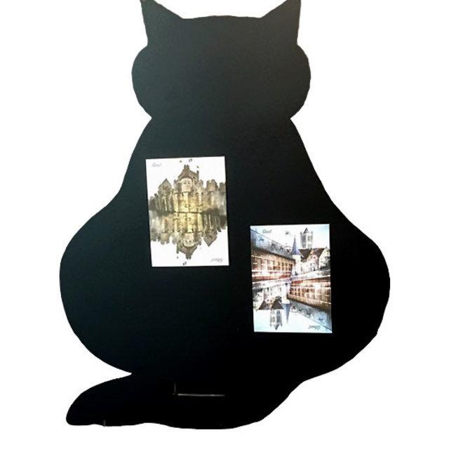 Wonderwall Magnettafel Katze - H 60 cm