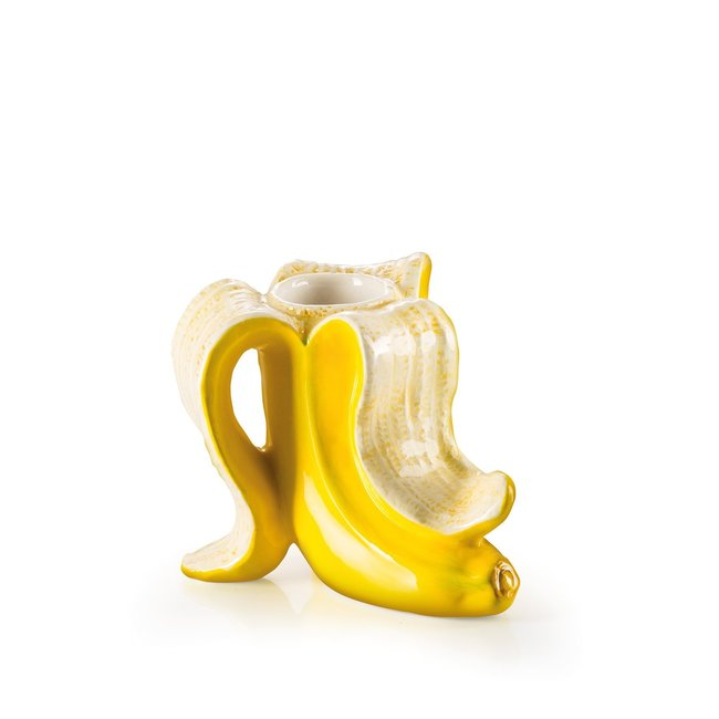 Donkey Candleholder Banana Romance - set of 2