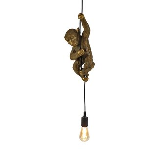 Lampe Suspendue Singe - doré