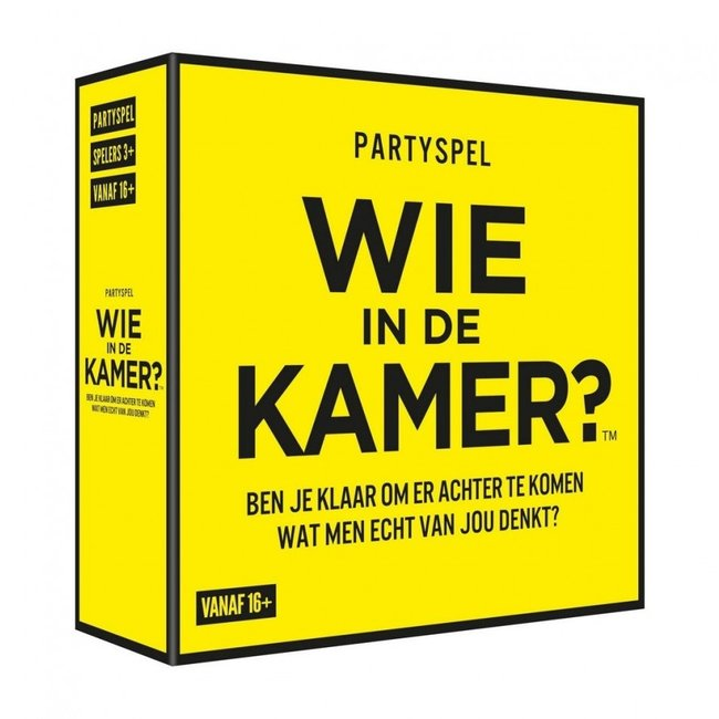Party Game 'Who in this Room' (dutch version)