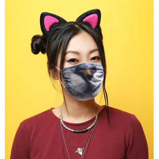 Silly Masks Masque Buccal Face de Chat
