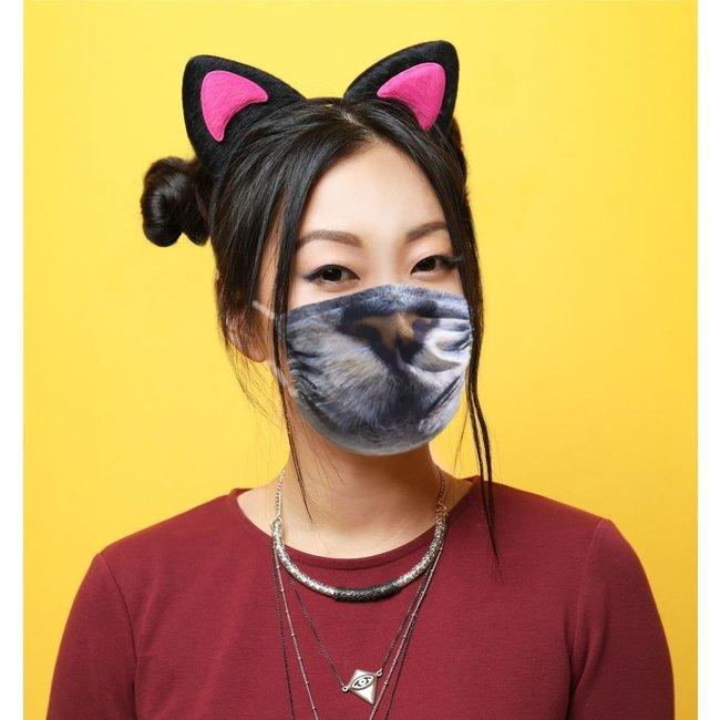 Silly Masks Mundmaske Katzengesicht