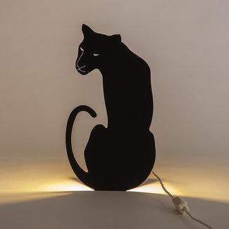 Goodnight Light Lampe à Découpage Panthère