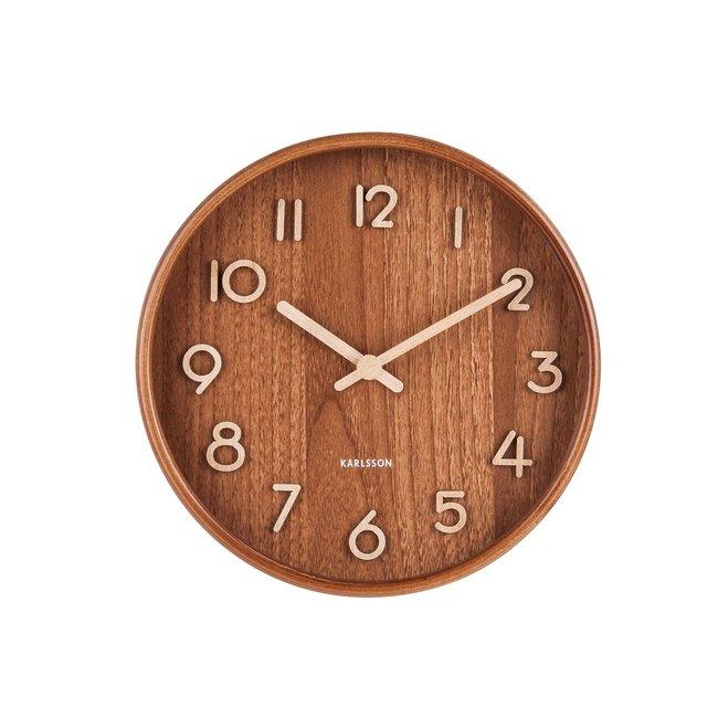 Karlsson Wall Clock Pure Dark - small