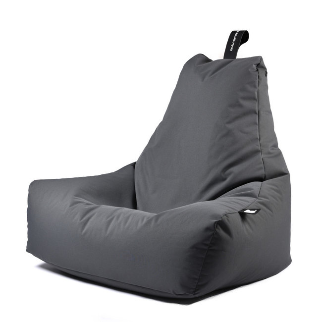 Extreme Lounging - Sitzsack B-Bag Mighty-B - outdoor grau