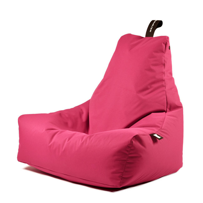 Extreme Lounging Beanbag Pouf B-Bag Mighty-B - outdoor rose