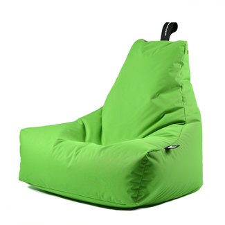 Extreme Lounging Beanbag Pouf B-Bag Mighty-B - outdoor vert citron
