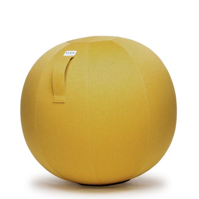 VLUV - Pouf Ballon-Siège LEIV - mustard