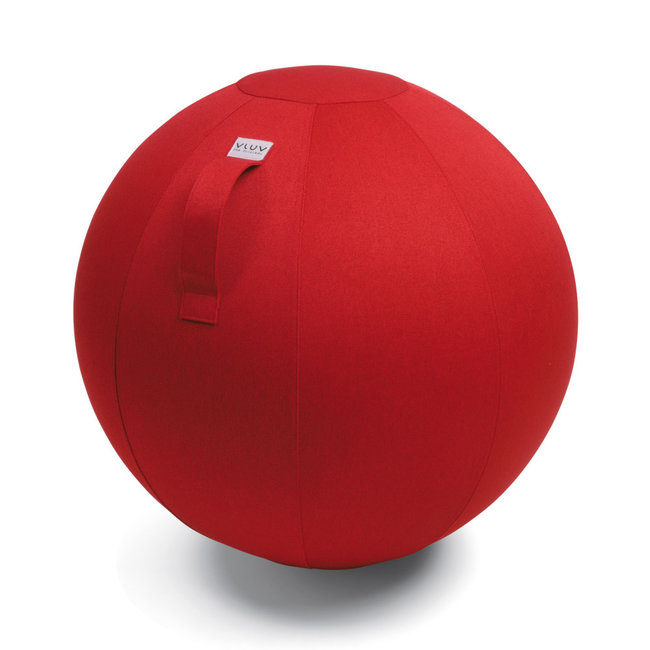 Vluv Zitbal VLUV LEIV - ruby red