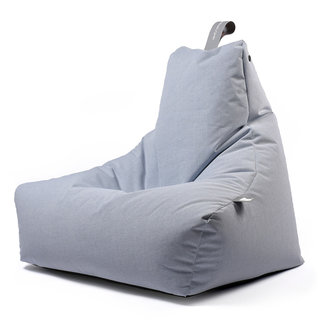 Extreme Lounging Beanbag Pouf B-Bag Mighty-B - outdoor bleu pastel