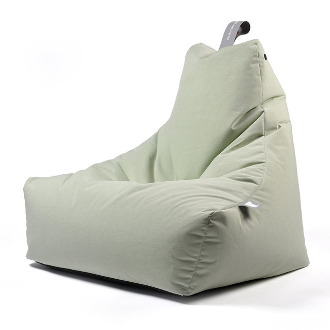 Extreme Lounging Beanbag Pouf B-Bag Mighty-B - outdoor vert pastel