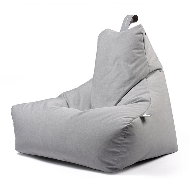 Extreme Lounging Beanbag Pouf B-Bag Mighty-B - outdoor gris pastel