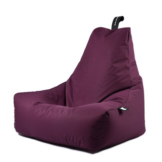 Extreme Lounging Beanbag Pouf B-Bag Mighty-B - outdoor mauve