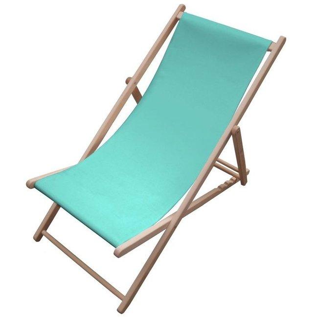 Karé Design - Deck Chair Sun Lounger Blue Sky Summer