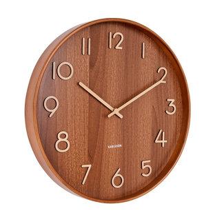 Karlsson Horloge Murale Pure Dark - medium