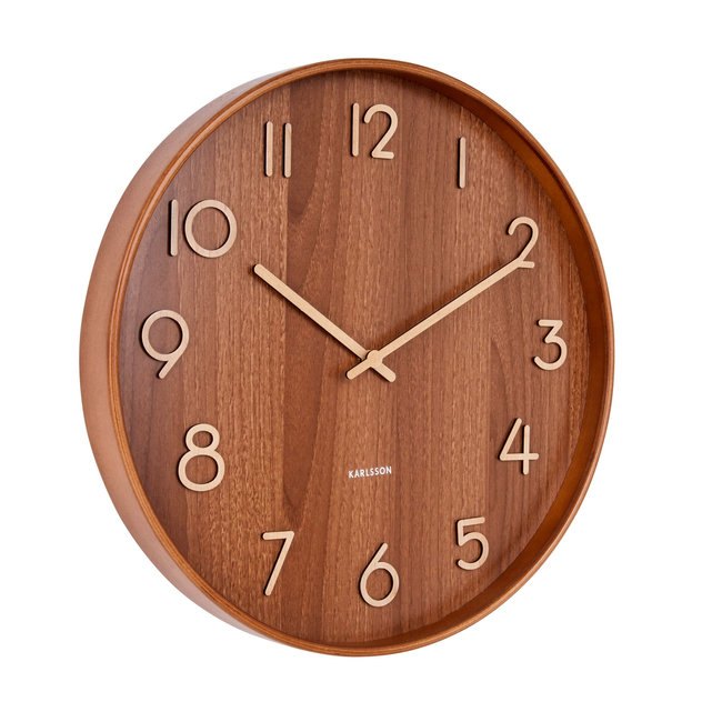 Karlsson Wall Clock Pure Dark - medium