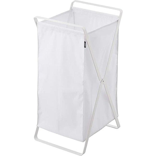 Yamazaki  Laundry Basket Tower - white