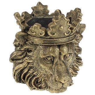 Cache-pot Lion Doré Clarence