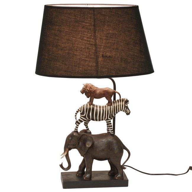 Werner Voß - Tafellamp - Dierenlamp Safari - H 70 cm