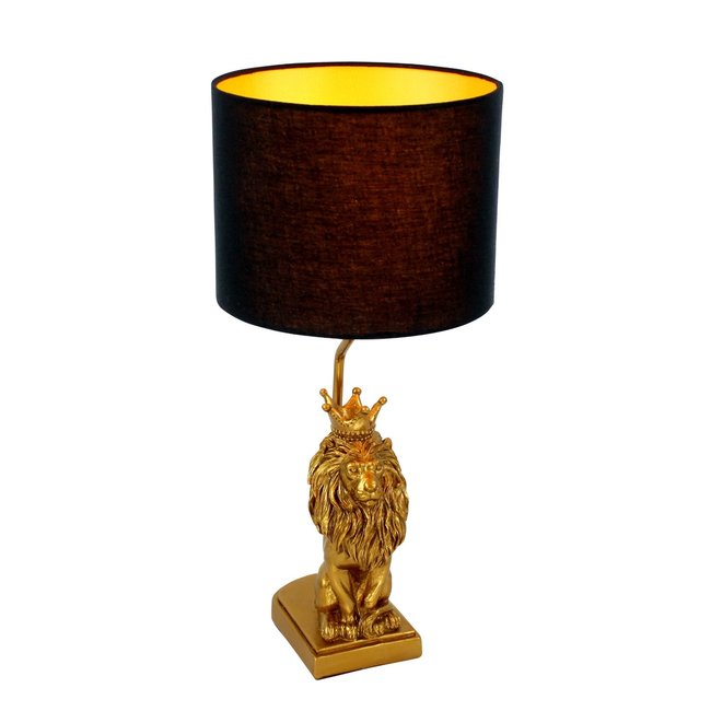 Werner Voß - Lampe de Table - Lampe Animale Roi Lion - H 50 cm