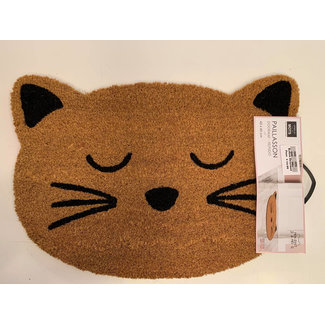 Doormat Cat Face