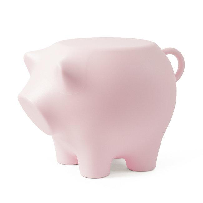 Werkwaardig - Hocker - Beistelltisch Schwein - babyrosa