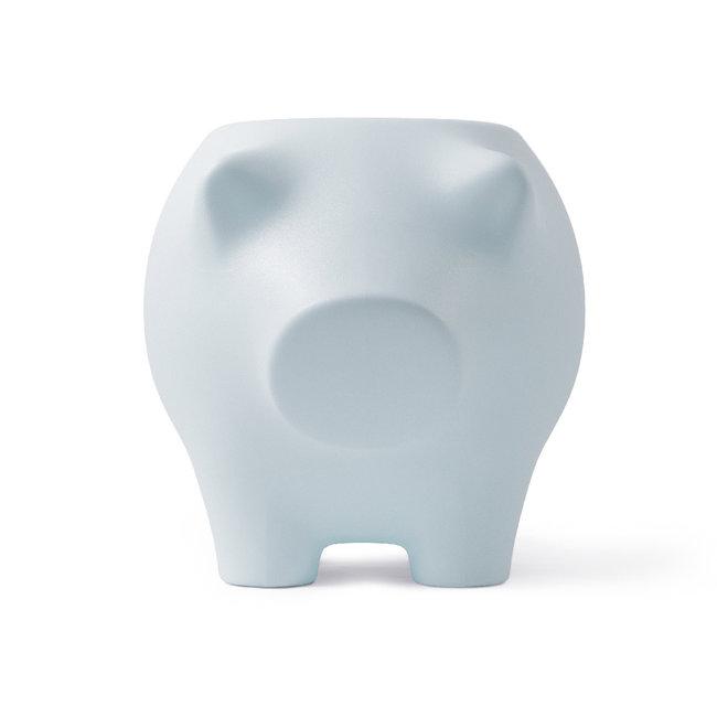 Werkwaardig Hocker - Beistelltisch Schwein - babyblau