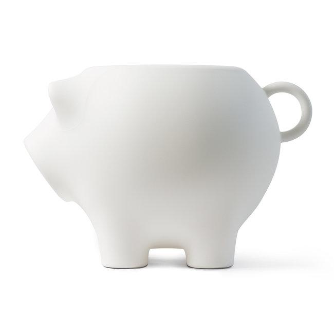 Werkwaardig Stool - Side Table Pig - white