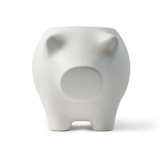 Werkwaardig Stool - Side Table Pig - lightgrey