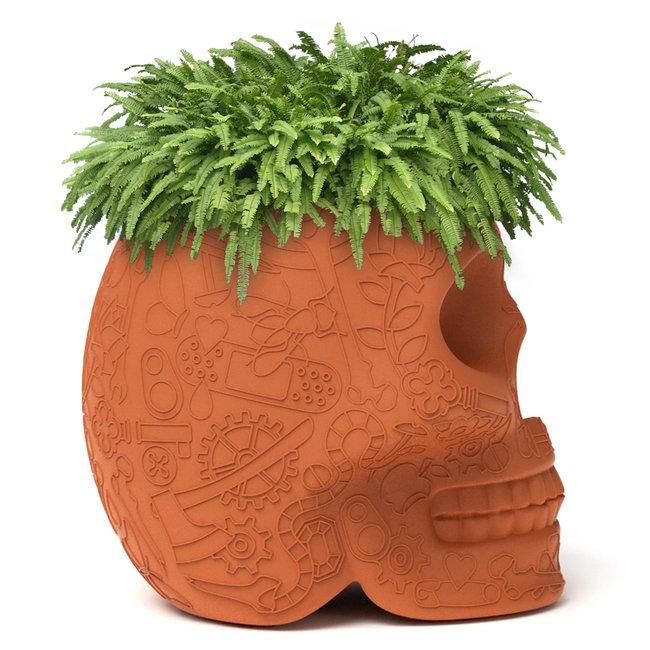 Qeeboo Plantenbak / Wijnkoeler Mexico - terracotta