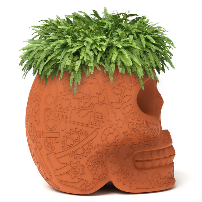 Qeeboo Planter / Wine Cooler Mexico - terracotta