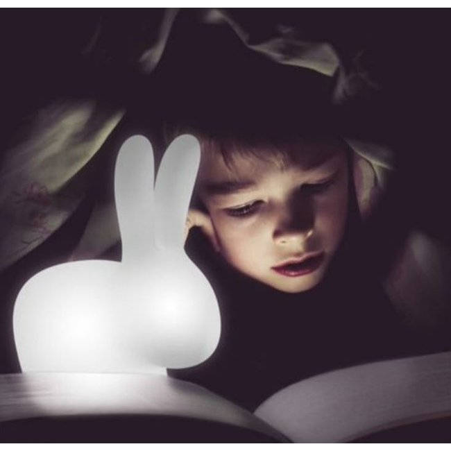 Qeeboo - Lampe Rabbit XS LED - multicolore - rechargeable