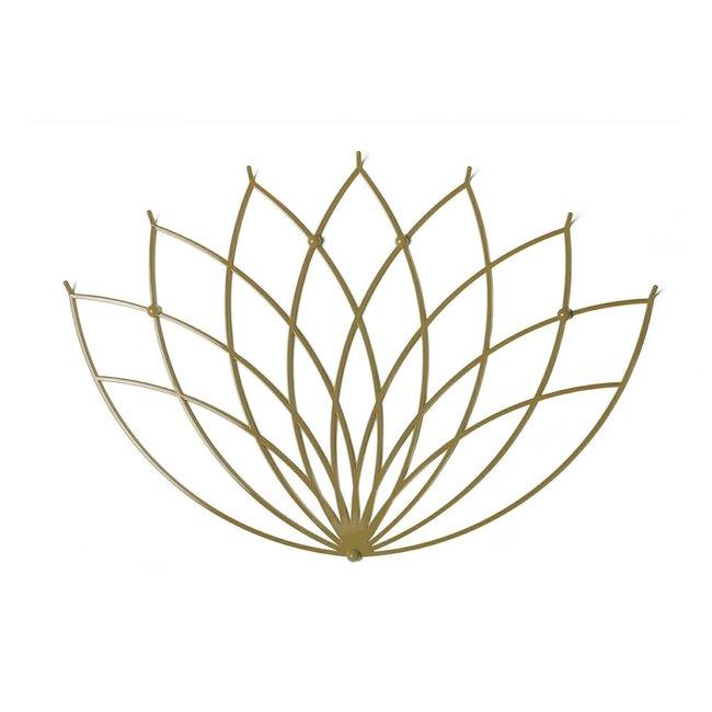 Polyhedra - Kapstok Creative Hanger Lotus L Goud