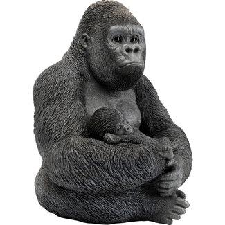 Karé Design Statue Famille de Gorilles