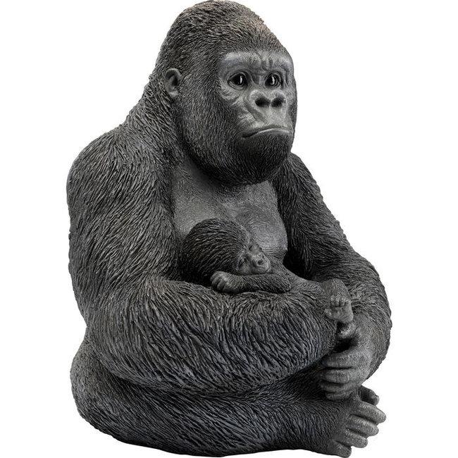 Karé Design Skulptur Gorilla Familie