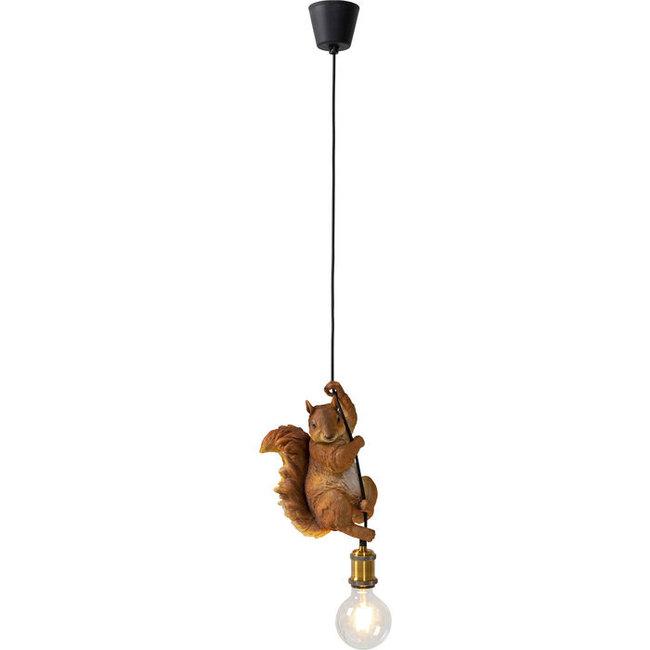 Karé Design - Lampe Suspendue - Lampe Animale Ecureuil