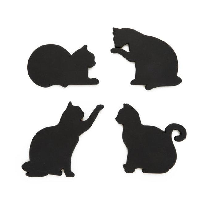 Balvi - Glasuntersetzer Katze - magnetisch