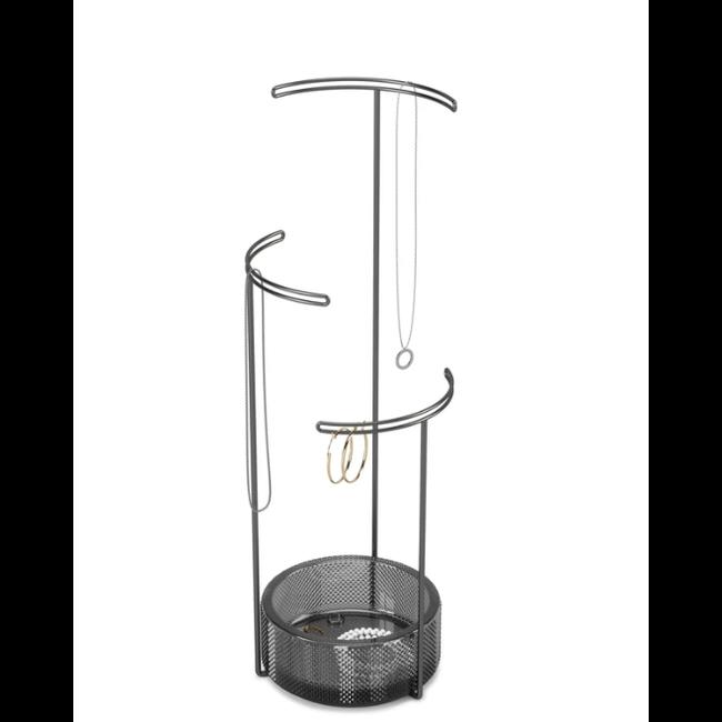 Umbra - Jewelry Holder Tesora Glass Smoke