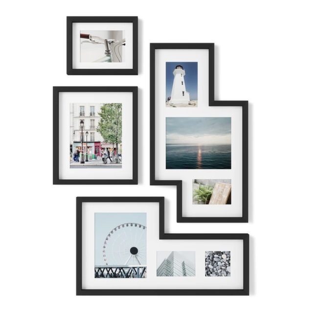 Umbra - Fotolijst Mingle - set van 4