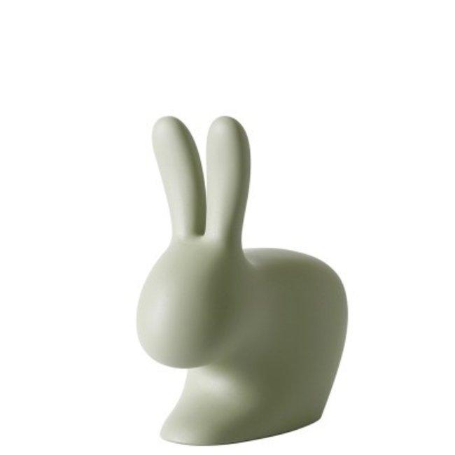 Qeeboo Stuhl - Hocker Rabbit Chair Baby - grün - H 53 cm