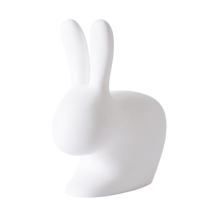 Qeeboo Stoel - Kruk Rabbit Chair - wit - H 80 cm