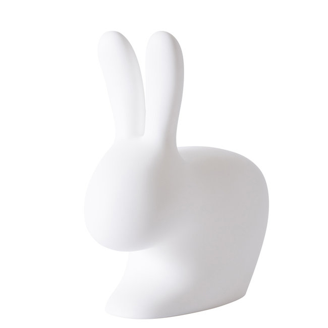 Qeeboo Stoel - Kruk Rabbit Chair - wit