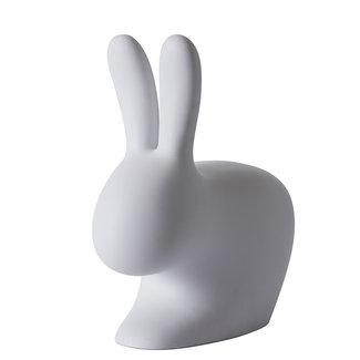 Qeeboo Rabbit Chair Stool - violet - grey