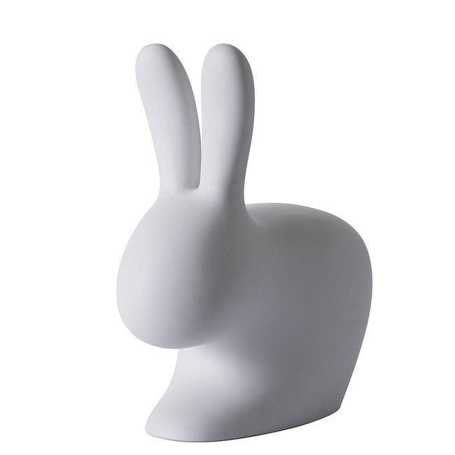Qeeboo Rabbit Chair Stool - grey - H 80 cm