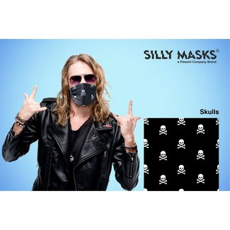 Silly Masks Mouth Mask Skulls