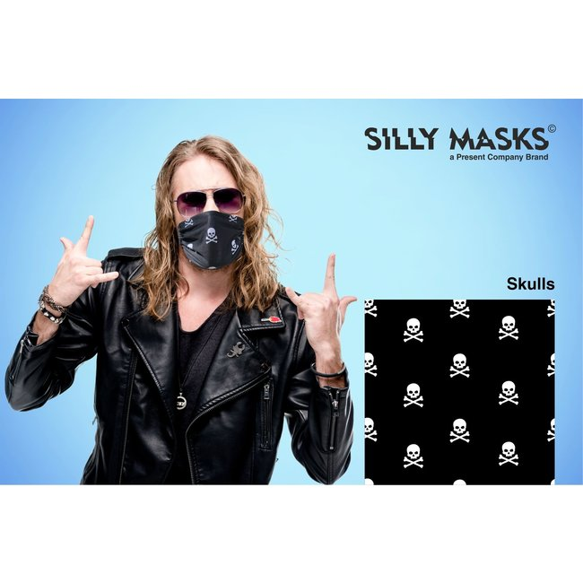 Silly Masks Mouth Mask Skulls