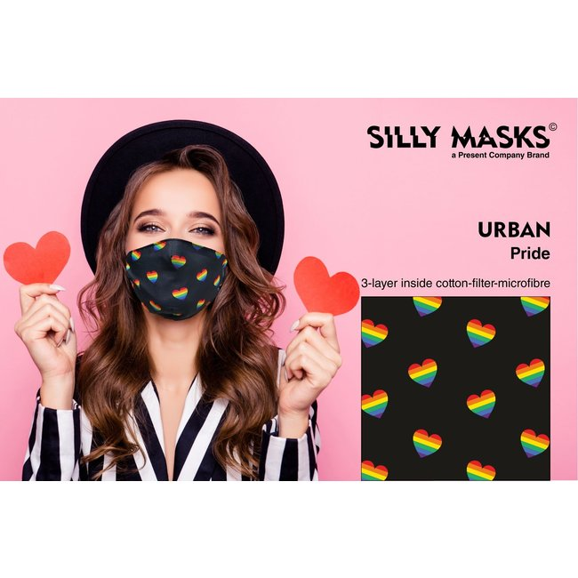 Silly Masks Mouth Mask Urban Pride